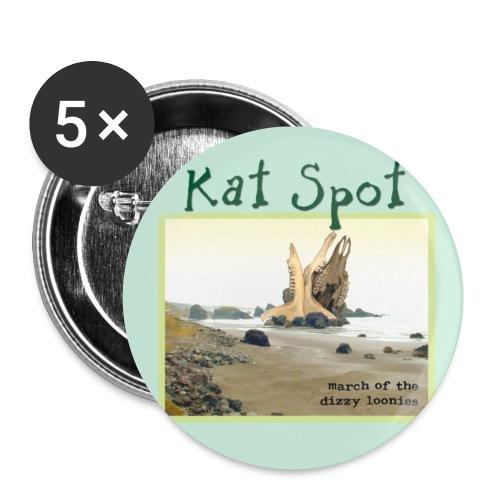 katspotbutton - Buttons klein 25 mm (5er Pack)