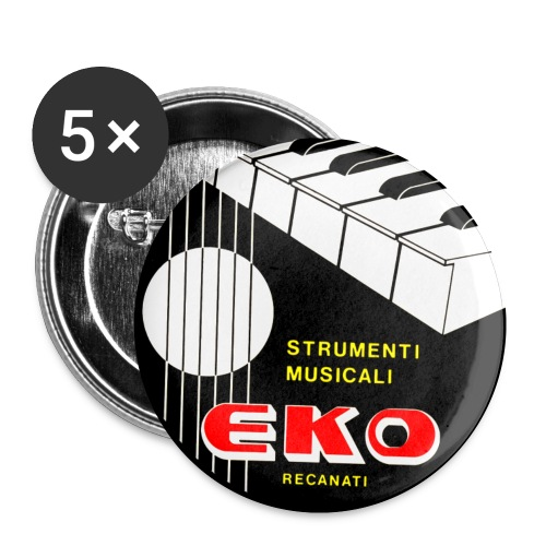 eko 2 - Buttons small 1''/25 mm (5-pack)