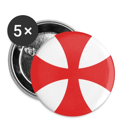 templer - Buttons klein 25 mm (5er Pack)