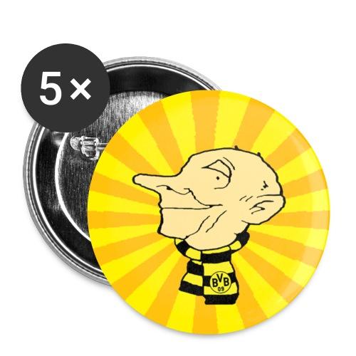 buttonmeckermann copy - Buttons klein 25 mm (5er Pack)