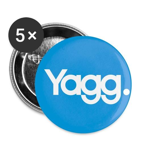 Logo rond - Lot de 5 petits badges (25 mm)
