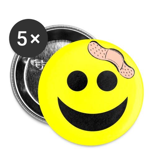 Gepflegter Humor - Buttons klein 25 mm (5er Pack)