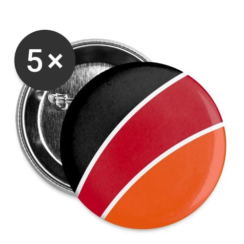 das teAM Signet zeig s ihnen - Buttons klein 25 mm (5er Pack)