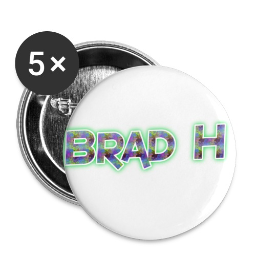 Official Brad H Logo - Buttons small 1''/25 mm (5-pack)
