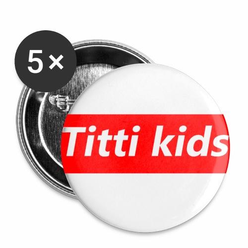 tittibogo - Små knappar 25 mm (5-pack)