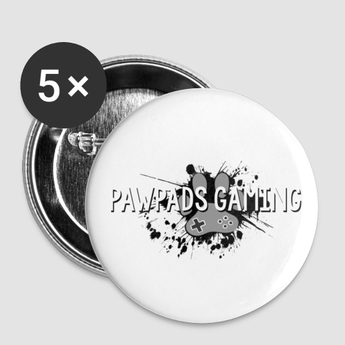 PawPads Gaming Vintage Logo - Buttons small 25 mm