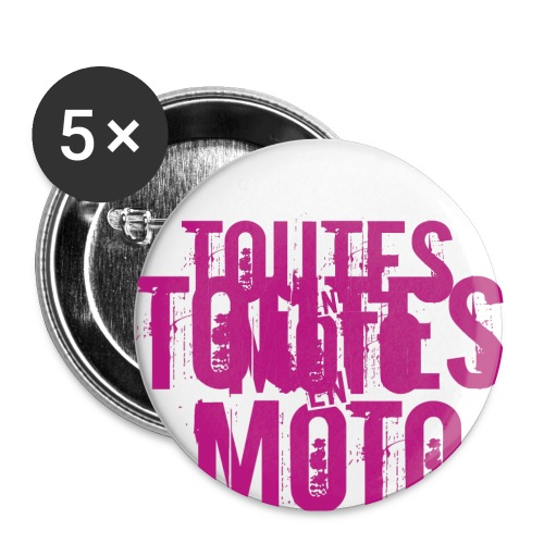 Logo TEM transparent png - Lot de 5 petits badges (25 mm)