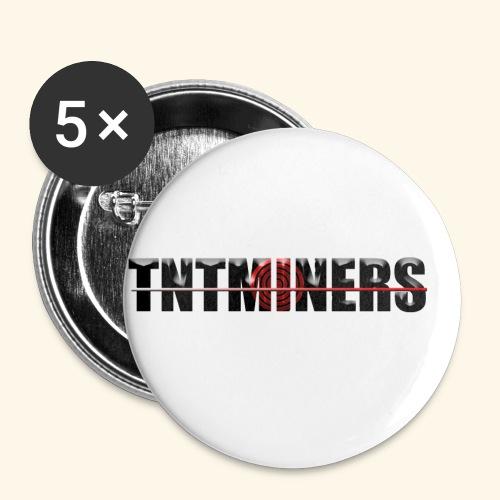 TNTMINERS ANNAN FÄRG 3 - Små knappar 25 mm (5-pack)