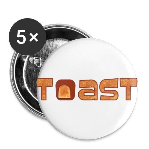 Toast Muismat - Buttons klein 25 mm (5-pack)
