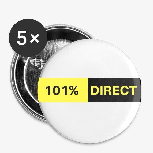 101%DIRECT - Lot de 5 petits badges (25 mm)
