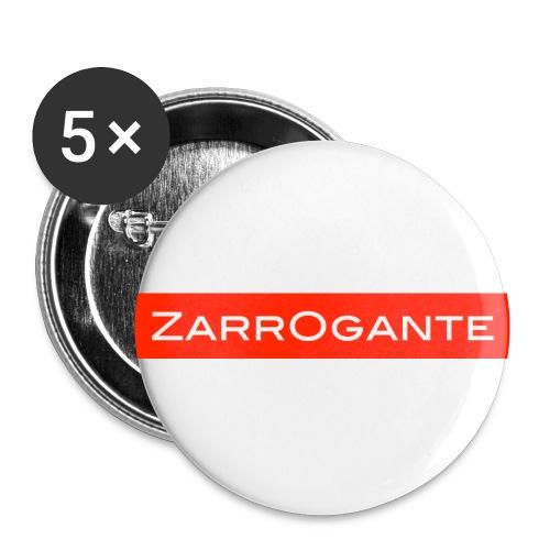 BasicLogoRed - Confezione da 5 spille piccole (25 mm)