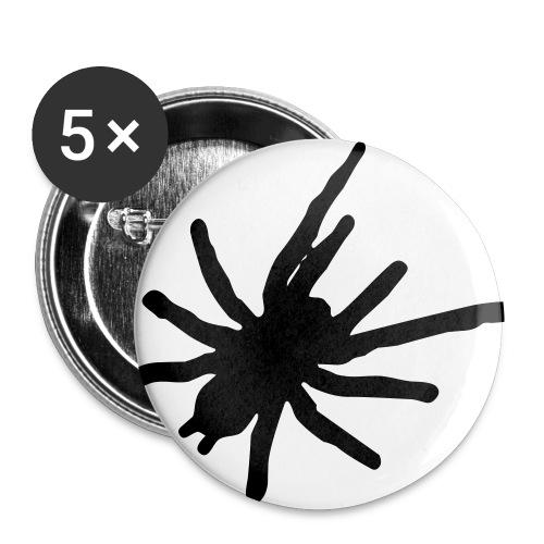 tshirt1 - Buttons klein 25 mm (5er Pack)