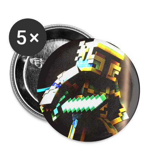 Crazyknight - Buttons small 1''/25 mm (5-pack)