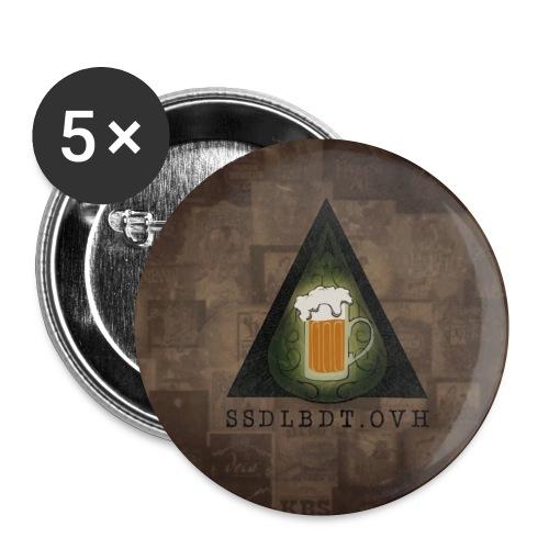 banner 2 Copie - Lot de 5 petits badges (25 mm)