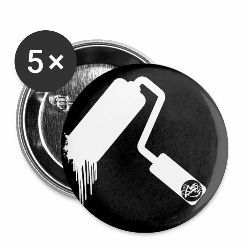 sdfghjk png - Buttons klein 25 mm (5er Pack)
