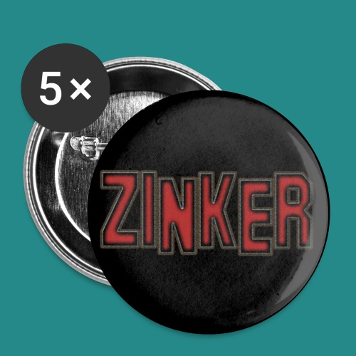 ZNKR Button 300dpi jpg - Buttons klein 25 mm (5er Pack)