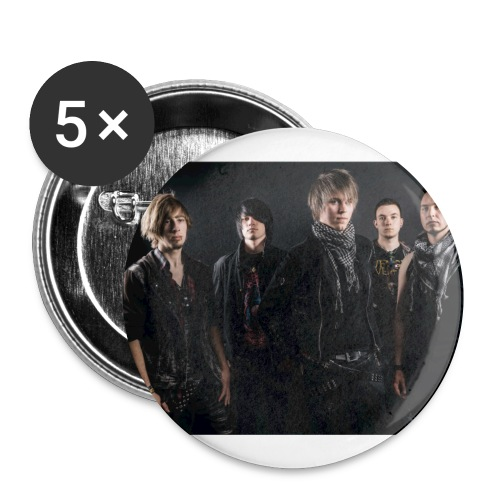 tof - Buttons klein 25 mm (5er Pack)