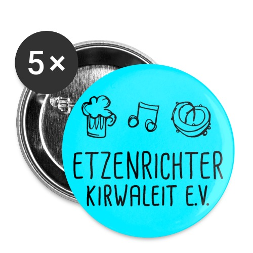 Anhänger fürn Koiser Bou! - Buttons klein 25 mm