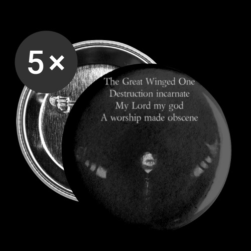 The Great Winged One - Buttons small 25 mm