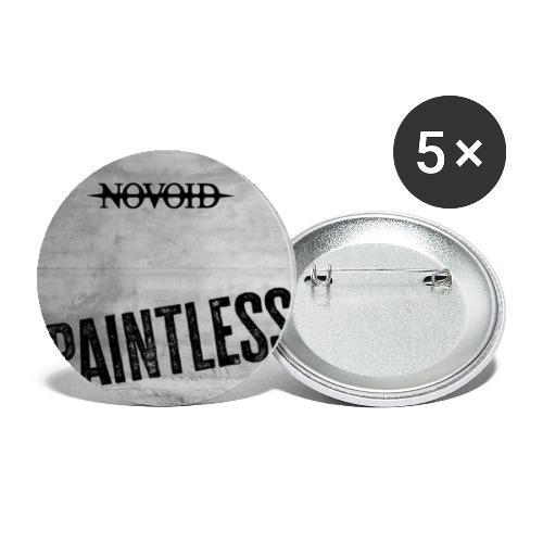 PAINTLESS - Buttons klein 25 mm (5er Pack)