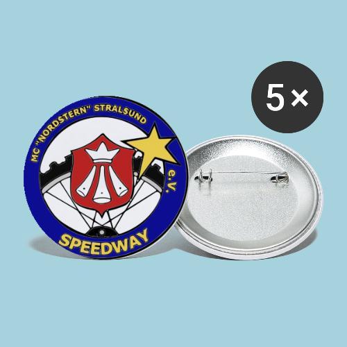 MCN Logo - Buttons klein 25 mm (5er Pack)