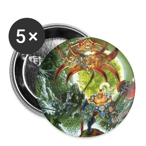 Bal-Sagoth Battle Magic 1 - Buttons small 1''/25 mm (5-pack)