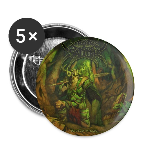 Bal-Sagoth Battle Magic 2 - Buttons small 1''/25 mm (5-pack)