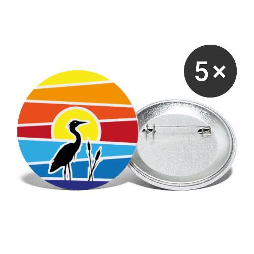 Schee-Fest 2021 - nur Logo - Buttons klein 25 mm (5er Pack)