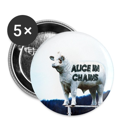 aic - Buttons small 1''/25 mm (5-pack)