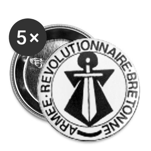 arb - Lot de 5 petits badges (25 mm)