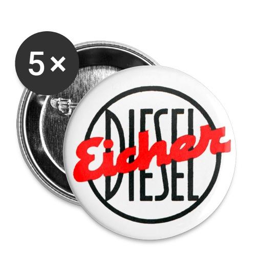 Eicher Diesel mittel für Button - Buttons klein 25 mm (5er Pack)