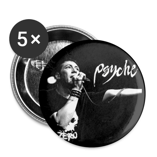 Psyche Live Design - Buttons small 1''/25 mm (5-pack)