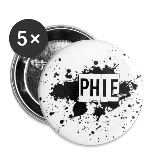 Phie 8 - Buttons small 1''/25 mm (5-pack)