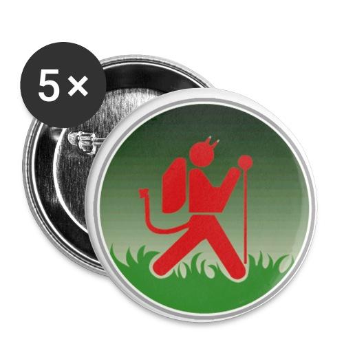 teufelpsd gif - Buttons klein 25 mm (5er Pack)