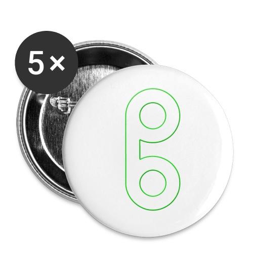Projekt Ben Logo - Buttons klein 25 mm (5er Pack)