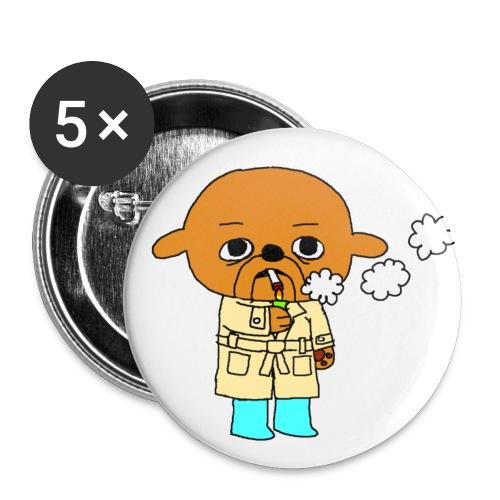 toumi - Lot de 5 petits badges (25 mm)