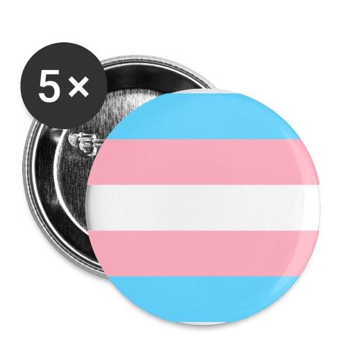 Transsukupuolinen - Rintamerkit pienet 25 mm (5kpl pakkauksessa)