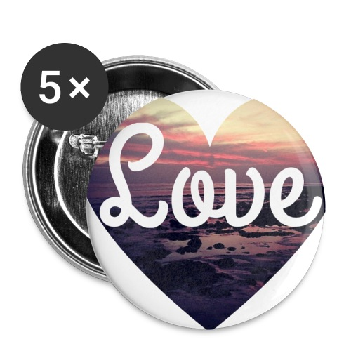 Love - Buttons small 25 mm