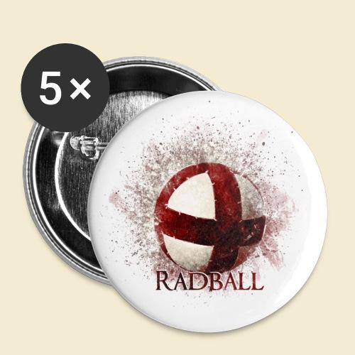 Radball | Ball - Buttons klein 25 mm