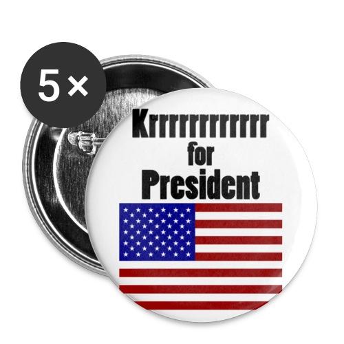 Krrr fp Fahne - Buttons klein 25 mm (5er Pack)