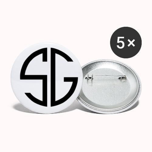 SemGamer Merch - Buttons klein 25 mm (5-pack)
