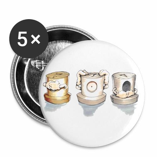 Dont ! Rasmus Balstrøm colors √ - Buttons/Badges lille, 25 mm (5-pack)