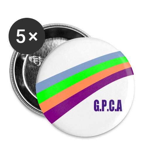 arc en ciel gpca grand png - Lot de 5 petits badges (25 mm)