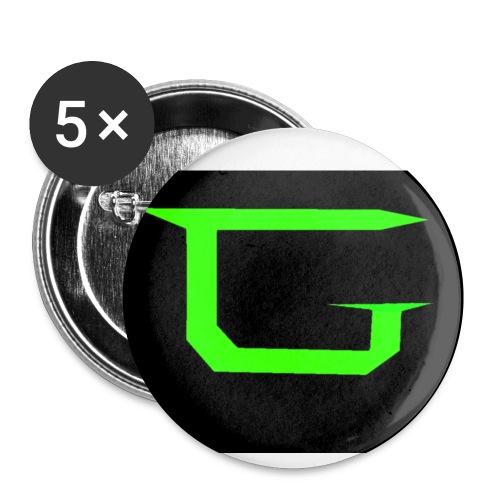logo 6 3 jpeg jpg - Buttons small 1''/25 mm (5-pack)