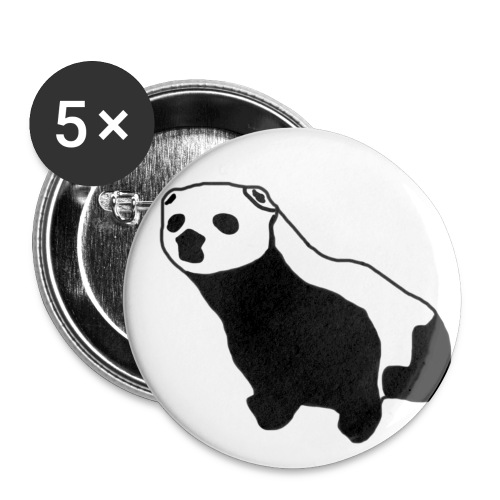Polecat - Buttons small 1''/25 mm (5-pack)