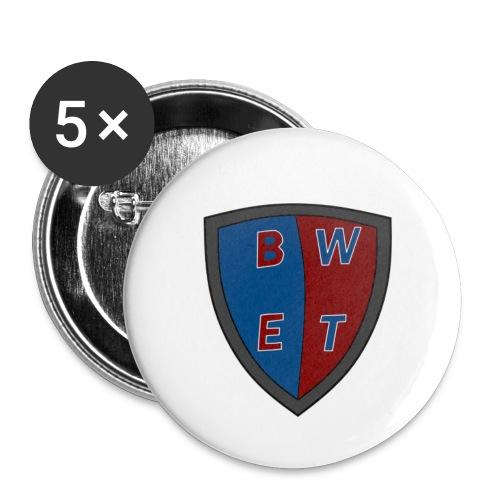 Blackwardené Entertainment Shield Logo - Små knappar 25 mm