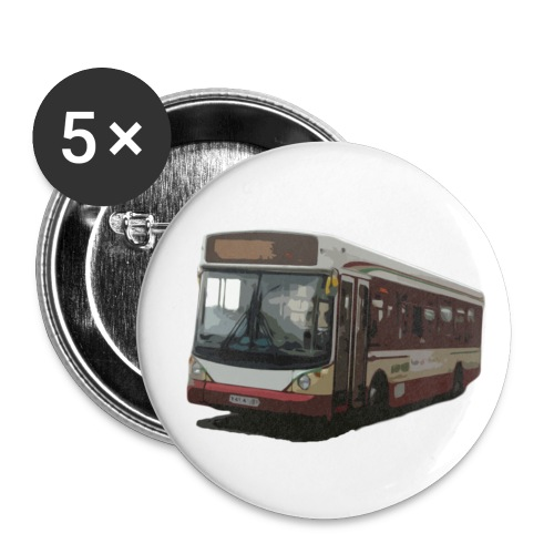 kettybus - Buttons small 1''/25 mm (5-pack)