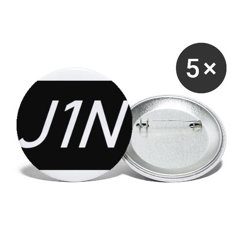 J1N - Buttons small 1''/25 mm (5-pack)