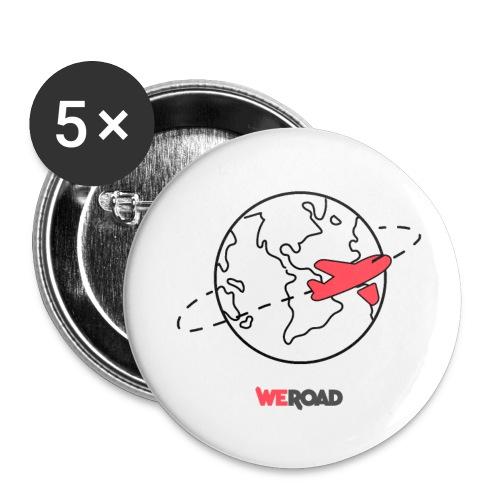 Mondo nero WeRoad - Confezione da 5 spille piccole (25 mm)