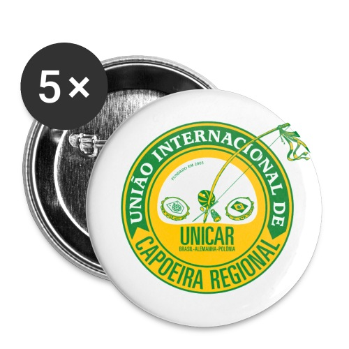 Unicar front vektor - Buttons klein 25 mm (5er Pack)